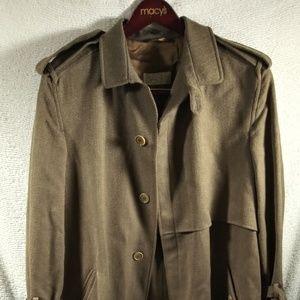 Basile Wool Trench Coat